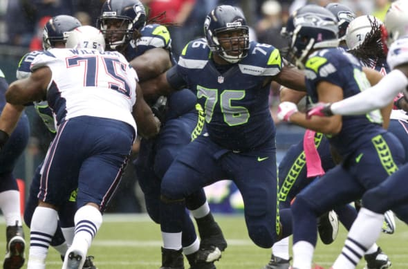 Russell Okung of the Seahawks