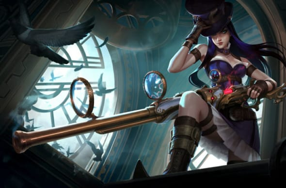 Caitlyn, League of Legends.