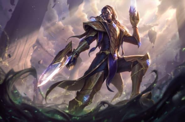 Victorious Lucian, League of Legends