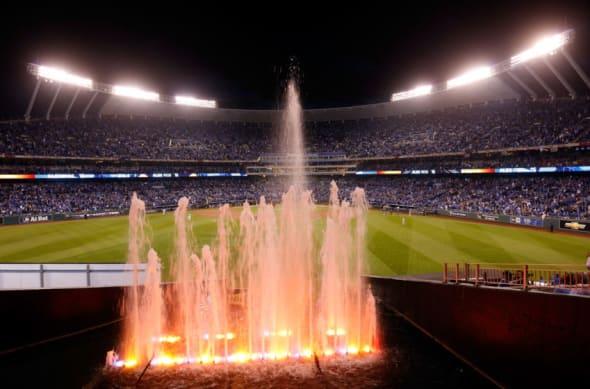 Kansas City Royals fountains