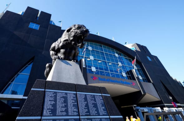 Bank of America Stadium, Panthers schedule