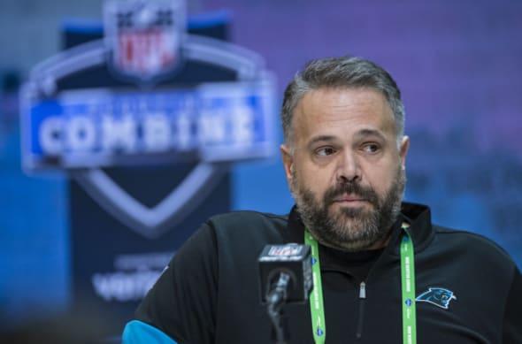 Carolina Panthers, Head Coach Matt Rhule