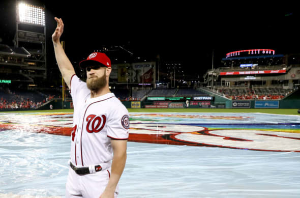 Washington Nationals Bryce Harper