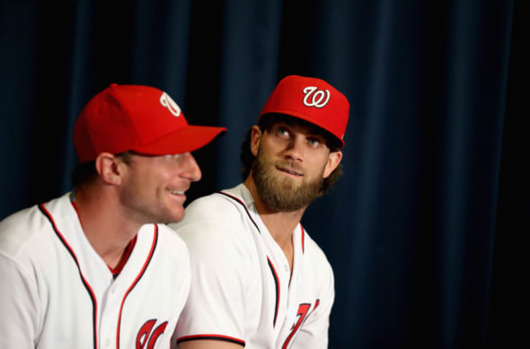 Max Scherzer is a first rounder not Bryce Harper