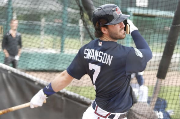 Prospect Dansby Swanson in action