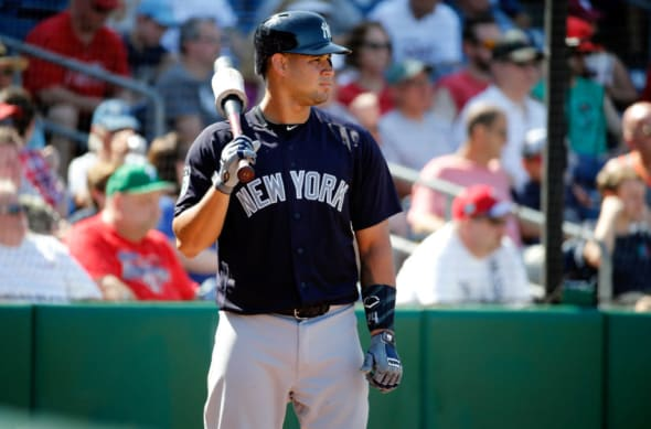 Former prospect Gary Sanchez in action