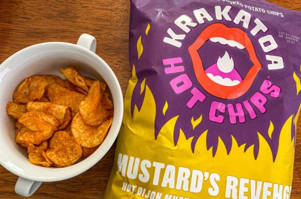 Krakatoa hot chips