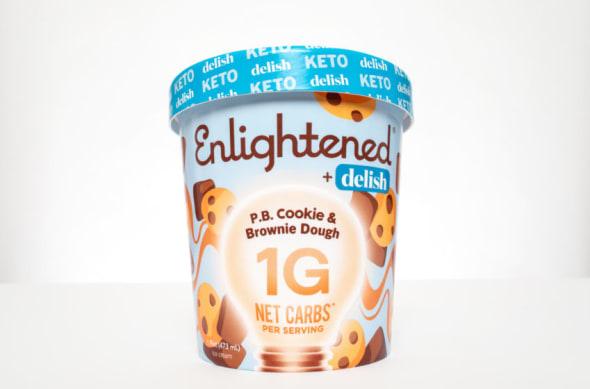 Enlightened P.B. Cookie & Brownie Dough