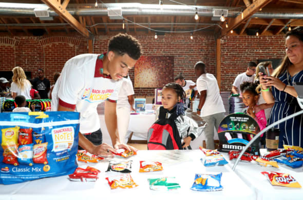 Frito-Lay Snackable Notes and Marcus Scribner event