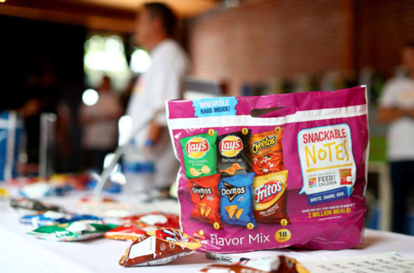 Frito-Lay Snackable Notes and Marcus Scribner partnership
