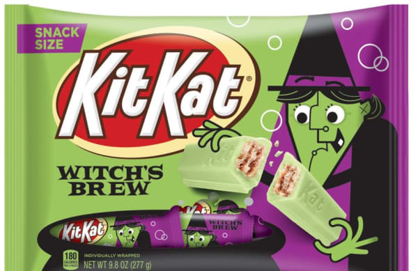 KIT KAT Witch's Brew, Hershey's new Halloween candy