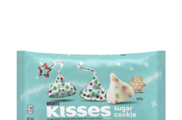 New Hershey's holiday candy, Hershey's Sugar Cookie Kisses