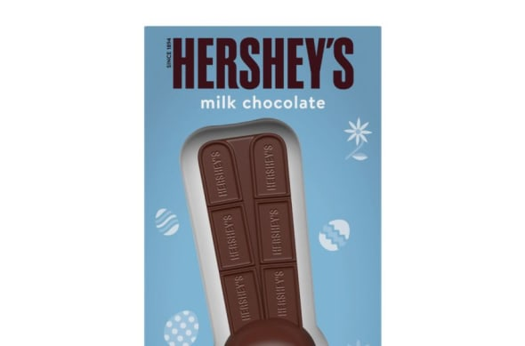 New Hershey Easter Candy new chocolate bunny