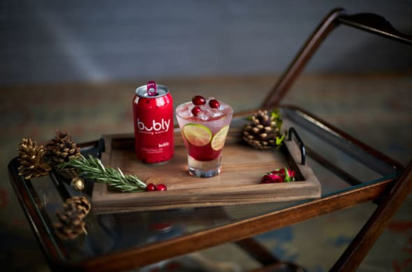 bubly holiday cocktails that are delightful