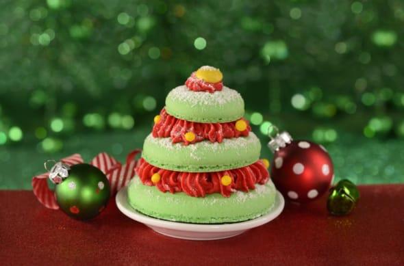 Arbre de Noël enchanté de Belle du parc Magic Kingdom
