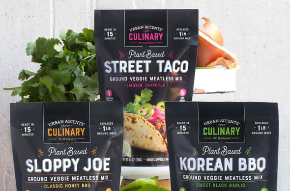 Urban Accents Plant Based Chipotle Taco Meatless Mix