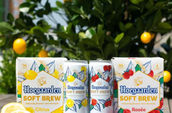 New Hoegaarden Soft Brew