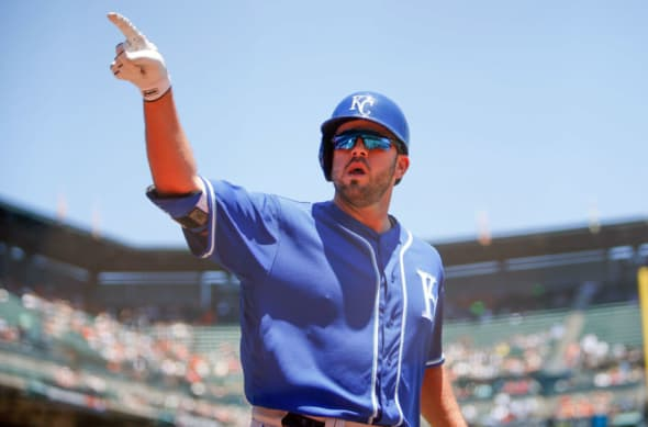 Kansas City Royals third baseman Mike Moustakas