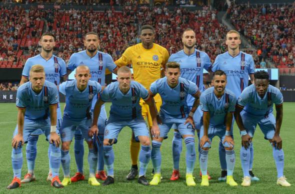 New York City FC Starting XI in Atlanta