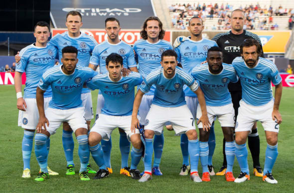 New York City FC starting XI June 2016