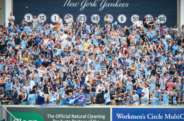 New York City FC fans