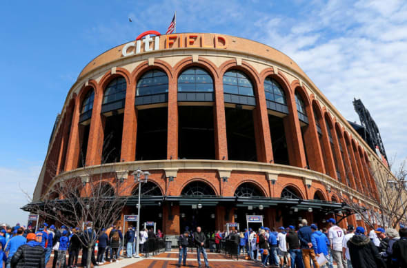 The outside of Citi Field.
