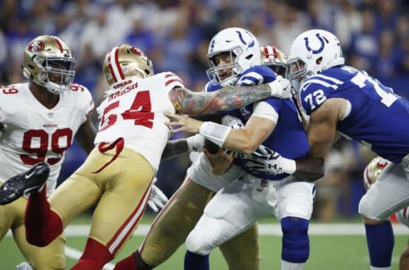 San Francisco 49ers vs. Indianapolis Colts Recap Postition Grades and Analysis