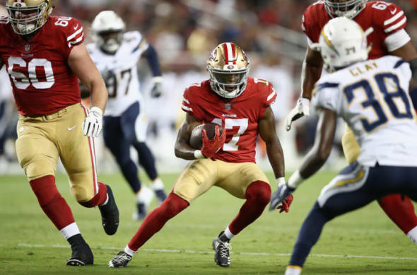 49ers Good Bad Ugly From Preseason Finale Vs Chargers