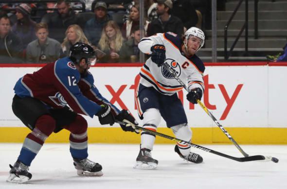 Colorado Avalanche, Edmonton Oilers, Connor McDavid #97