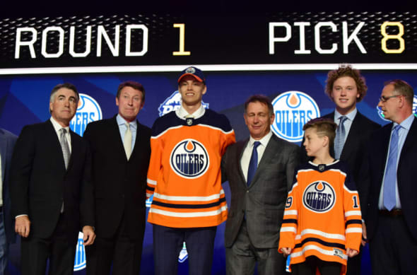 NHL Draft, Edmonton Oilers