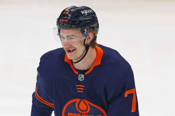 Ryan McLeod #71, Edmonton Oilers
