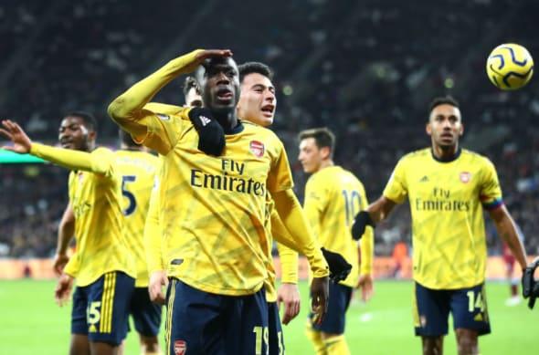 Arsenal, Nicolas Pepe