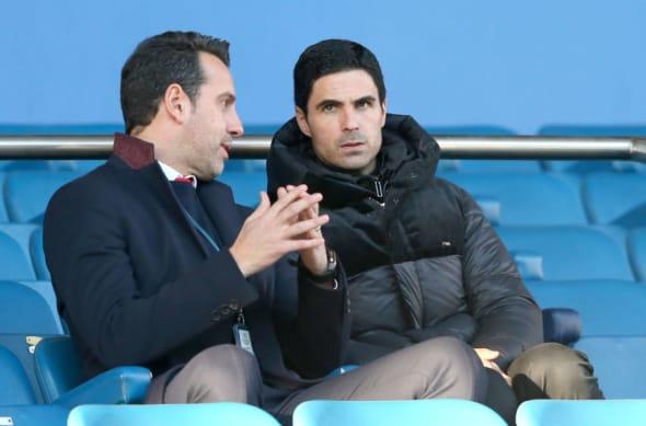 Arsenal, Mikel Arteta, Edu Gaspar