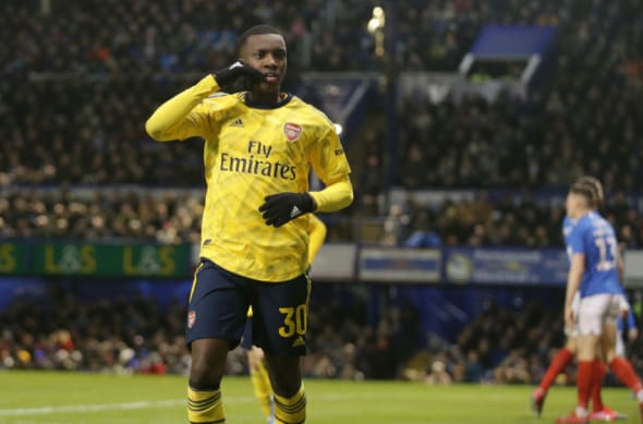 Arsenal, Eddie Nketiah