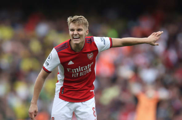 Arsenal, Martin Odegaard