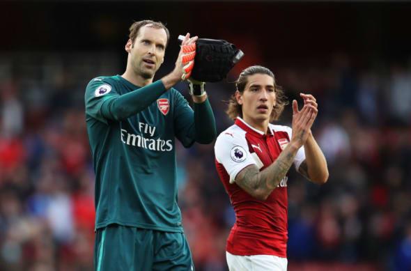 Arsenal, Hector Bellerin, Petr Cech