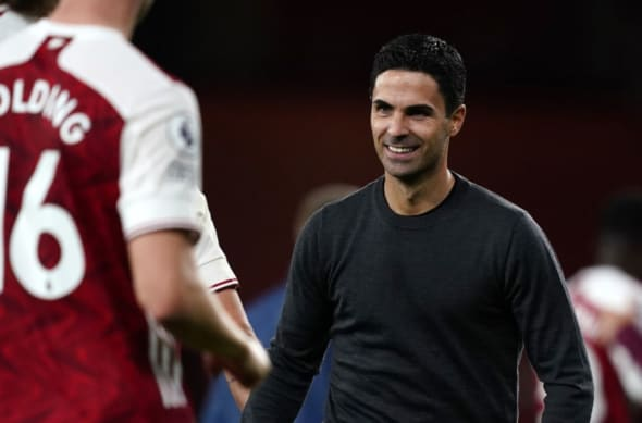 Arteta will have mixed emotions after Arsenal's display