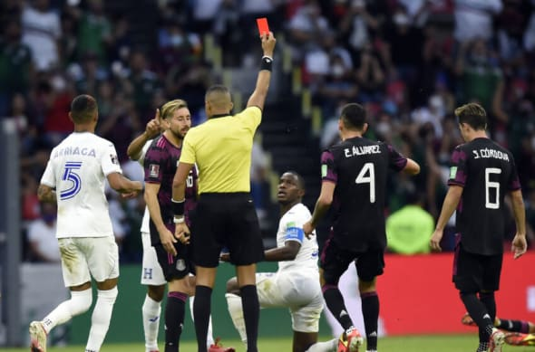 Mexico beats Honduras M5
