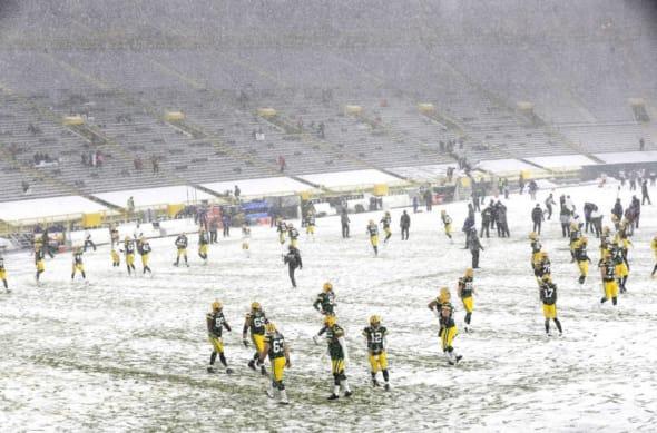 LA Rams Lambeau Field