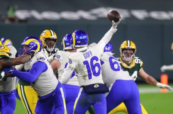 LA Rams Jared Goff