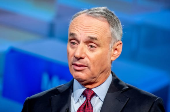 Rob Manfred oversees the Colorado Rockies and MLB's other 29 teams