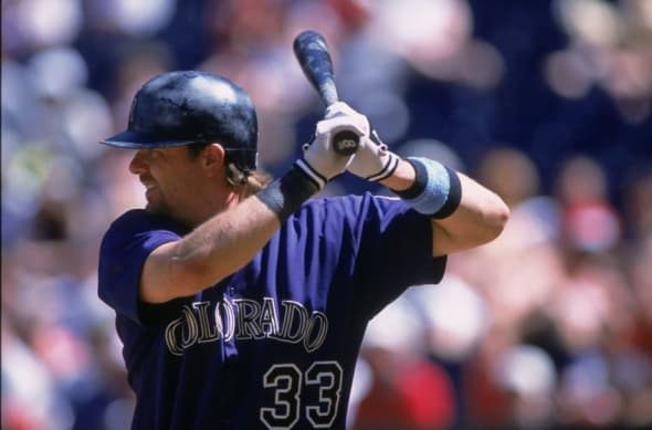 Larry Walker of the Colorado Rockies