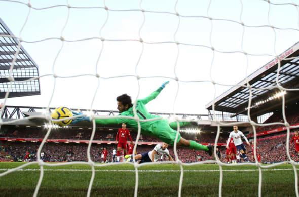 Liverpool vs Tottenham player ratings Alisson