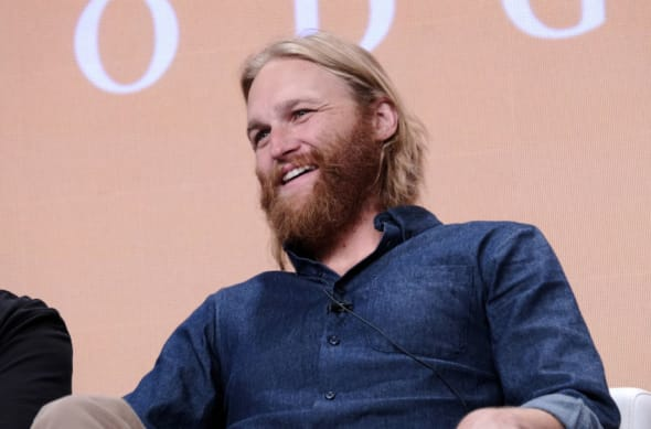 LOS ANGELES, CALIFORNIA - JULY 25: Wyatt Russell of 'Lodge 49' speaks onstage during the AMC Networks portion of the Summer 2019 TCA Press Tour on July 25, 2019 in Los Angeles, California. (Photo by Tommaso Boddi/Getty Images for AMC)