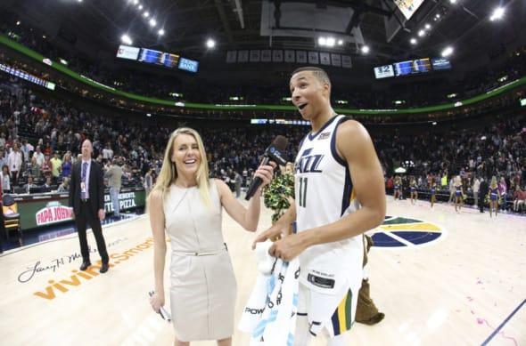 Dante Exum Utah Jazz Kristen Kenney
