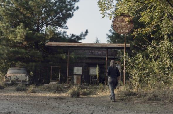 Samantha Morton as Alpha - The Walking Dead _ Season 10, Episode 10 - Photo Credit: Jackson Lee Davis/AMC