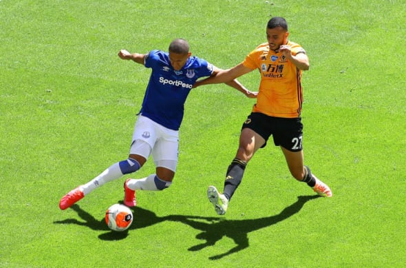 Everton predicted lineup vs Wolves: James Rodriguez and ...