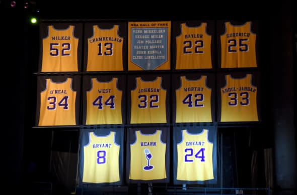 lakers retired jersey numbers Off 52% - www.bashhguidelines.org
