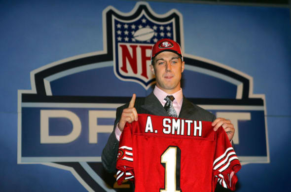 Alex Smith: Timeline of former 49ers QB's highs, lows and 2013 ...