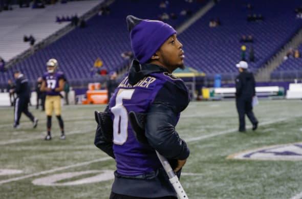 Chico McClatcher Washington Huskies Football Jersey - Purple